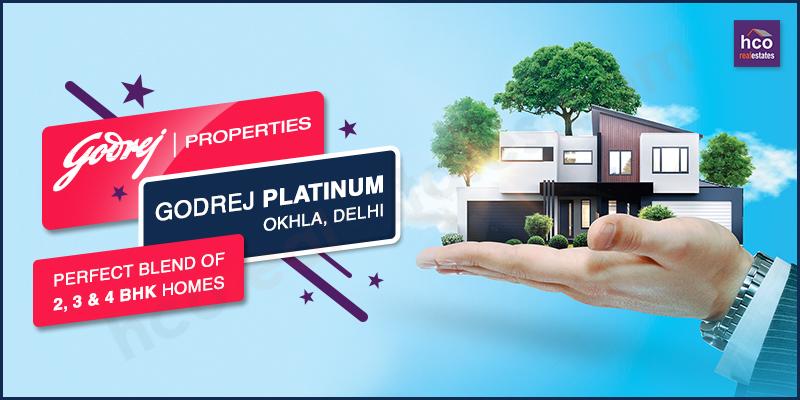 New Property in Delhi, Godrej Platinum Okhla for Bigger Stay