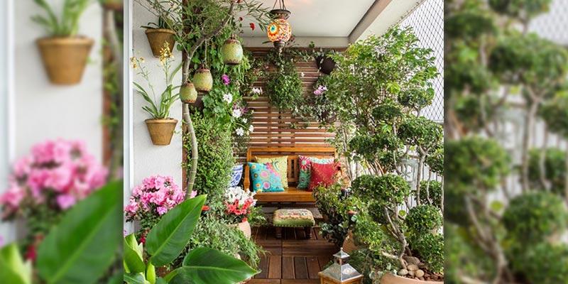 Turn Your Balcony into a Brand New Garden