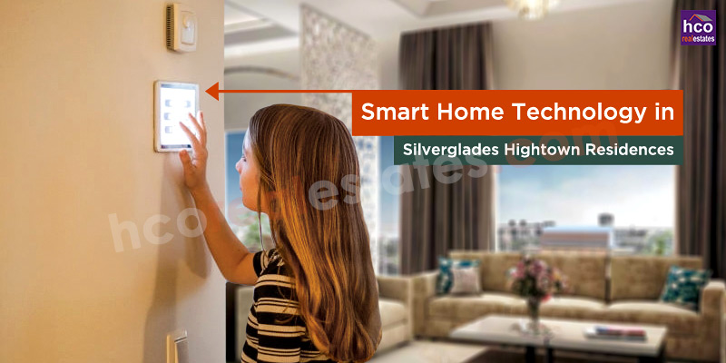 How do we use Smart Home Technology in Hightown Residences?