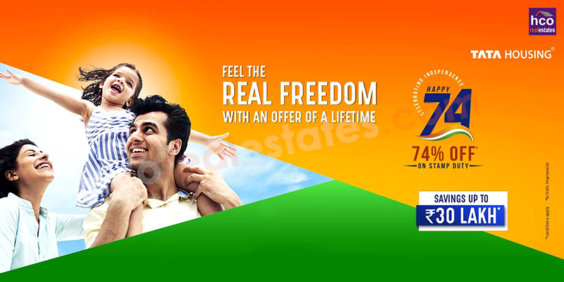 Take Advantage of 74% off on Stamp Duty, Seal Your Deal with Tata Housing!