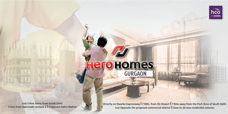 Ideal Indian Home by Hero Realty Private Limited in Gurgaon