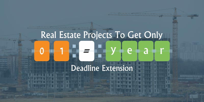 Only 1 year Deadline Addition to Real Estate Projects