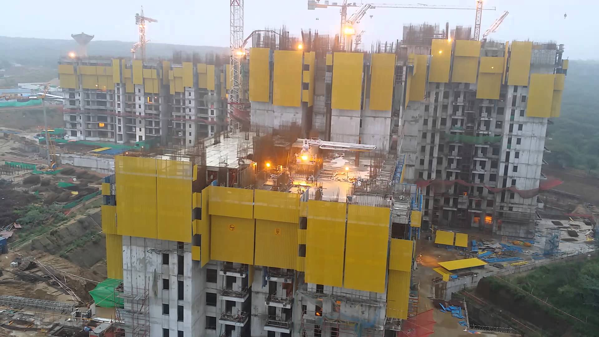 Latest Update on Constructions of DLF The Crest