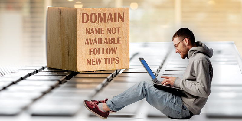 Domain Name Not Available Follow New Tips