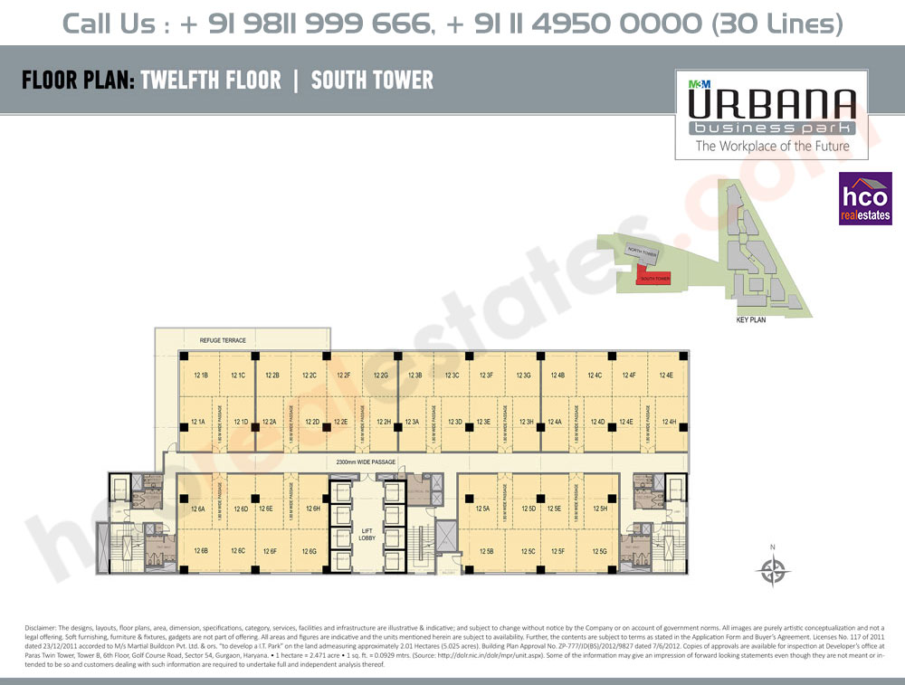 Twelfth Floor Plan