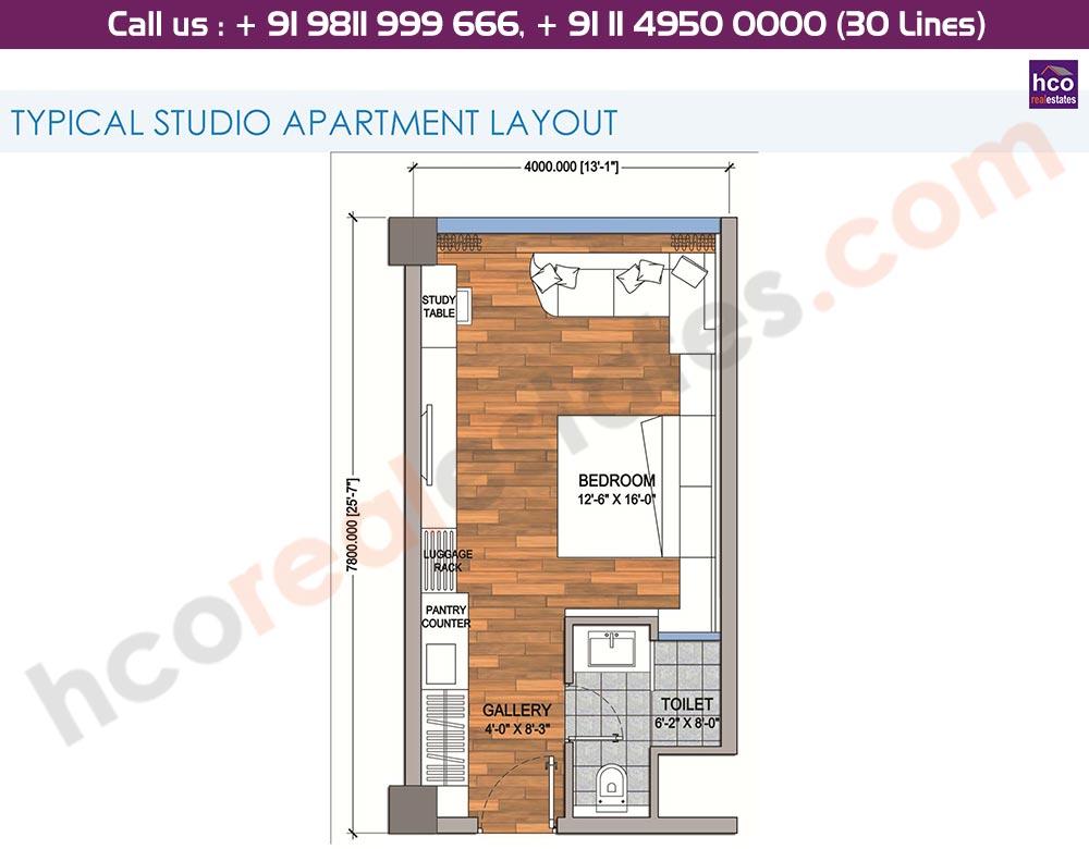 Typical Studio Apartment