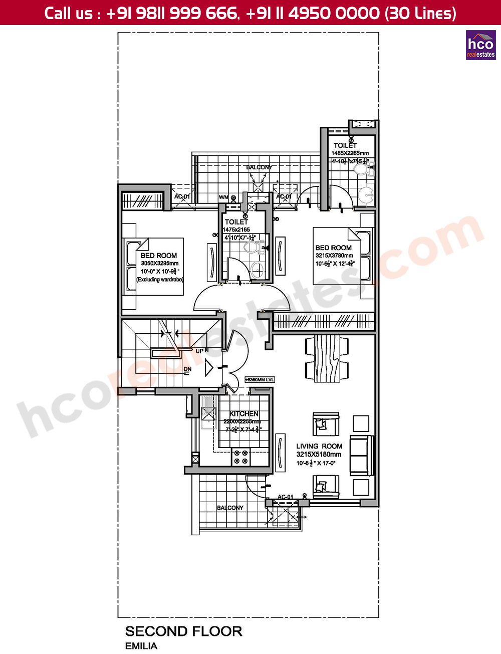 Floor Plan Vatika Emilia Gurgaon Sector 82 Amp 83