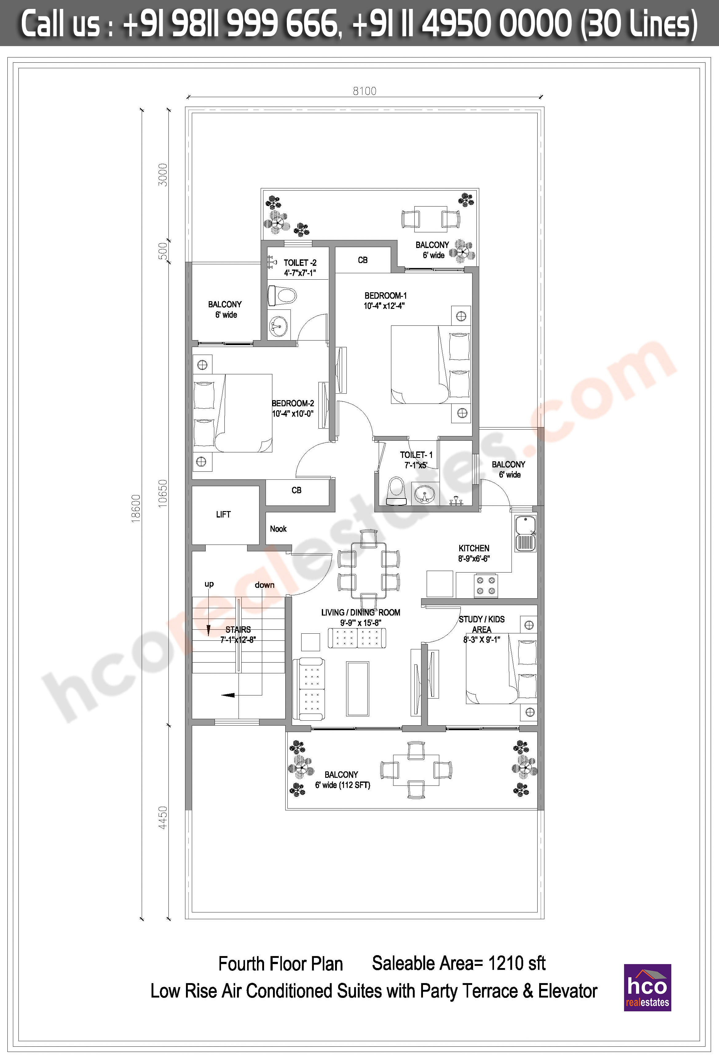 Floor Plan Of The Central Park 3 Cerise Suites Floors