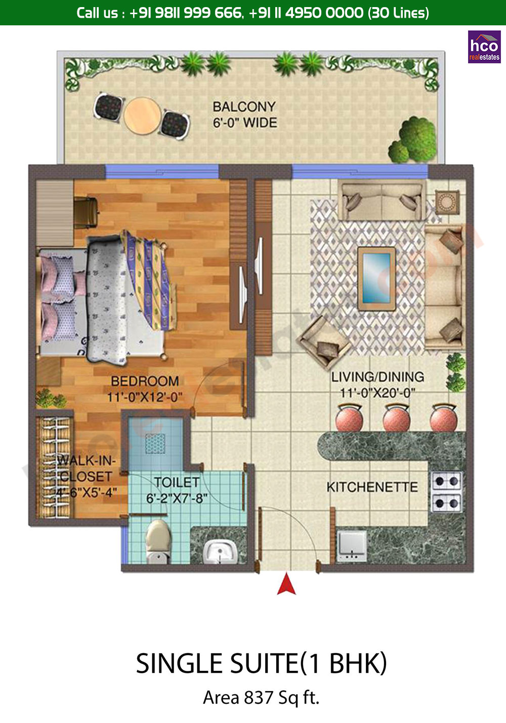 Floor Plan | Central Park 3 Sohna Gurgaon, Sector 33