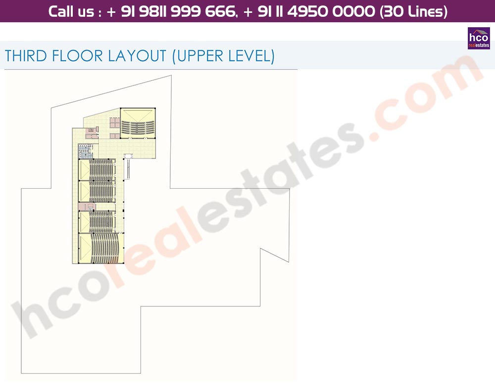 3rd Floor Upper Level Floor Plan