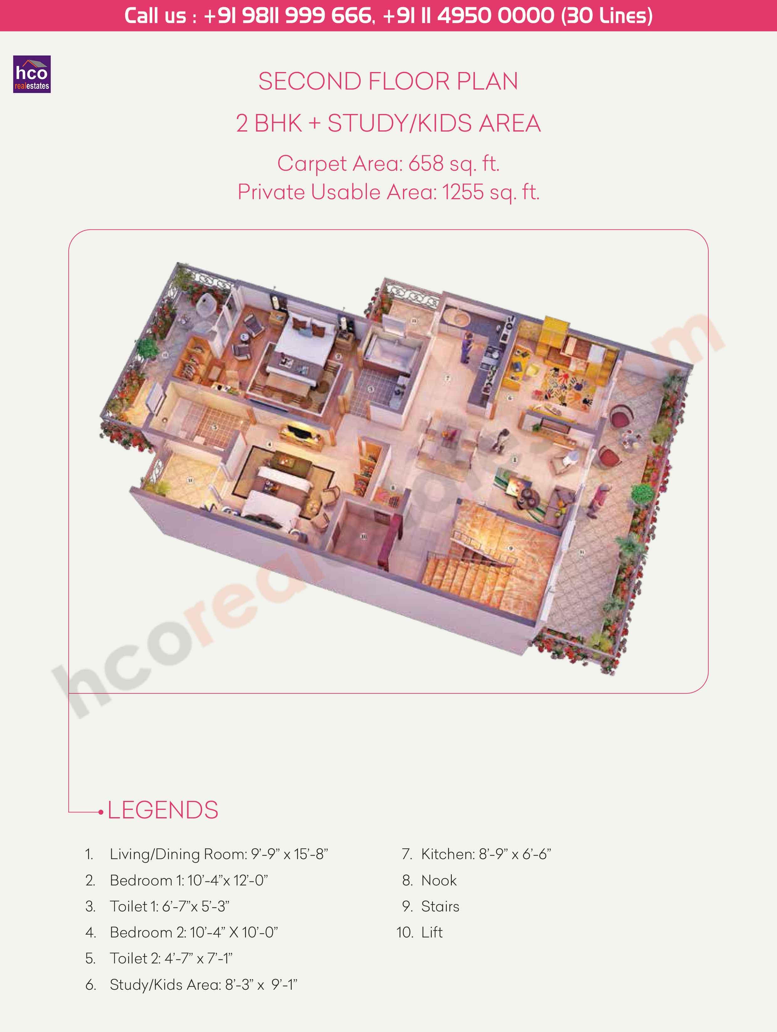 Floor Plan Of Central Park 3 Cerise Floors Sohna Gurgaon