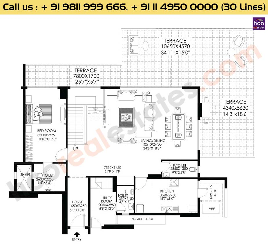 Apt No 1, 2, 3, 4 Penthouse Lower Level