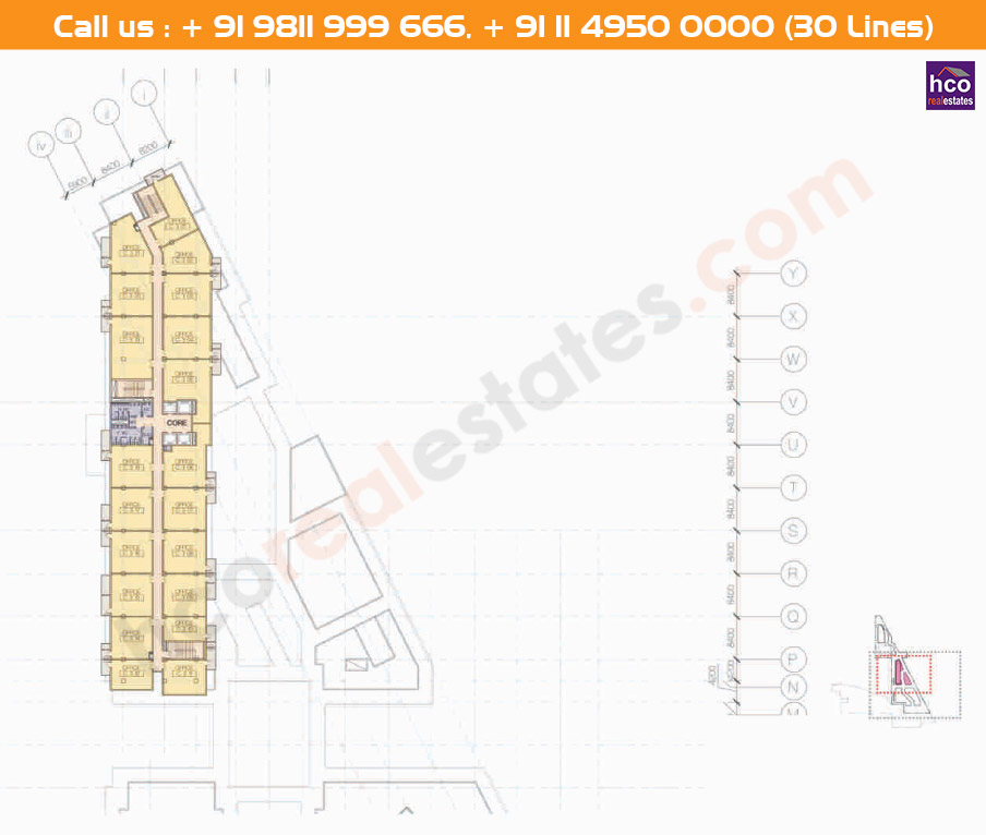 Floor Plan M3m Urbana Business Park Gurgaon