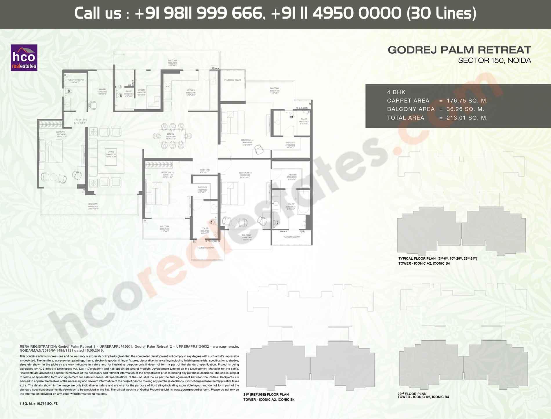 Area:- 213 Sq. Mtr.