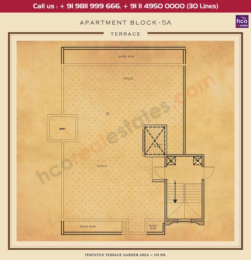Terrace Floor Plan : 1410 Sq.Ft.