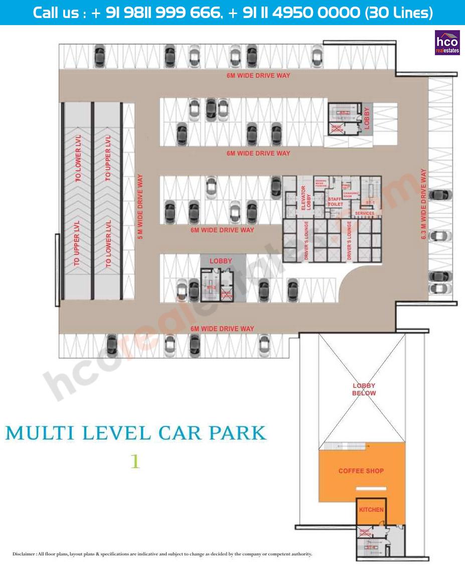 Floor Plan Of Aipl Business Club Sector 62 Gurgaon