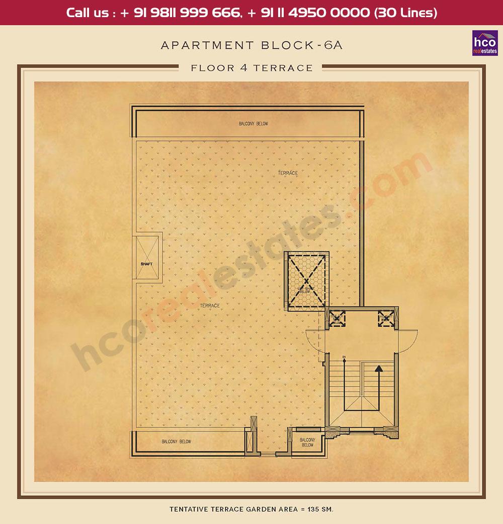 Terrace Floor Plan : 1453 Sq.Ft.