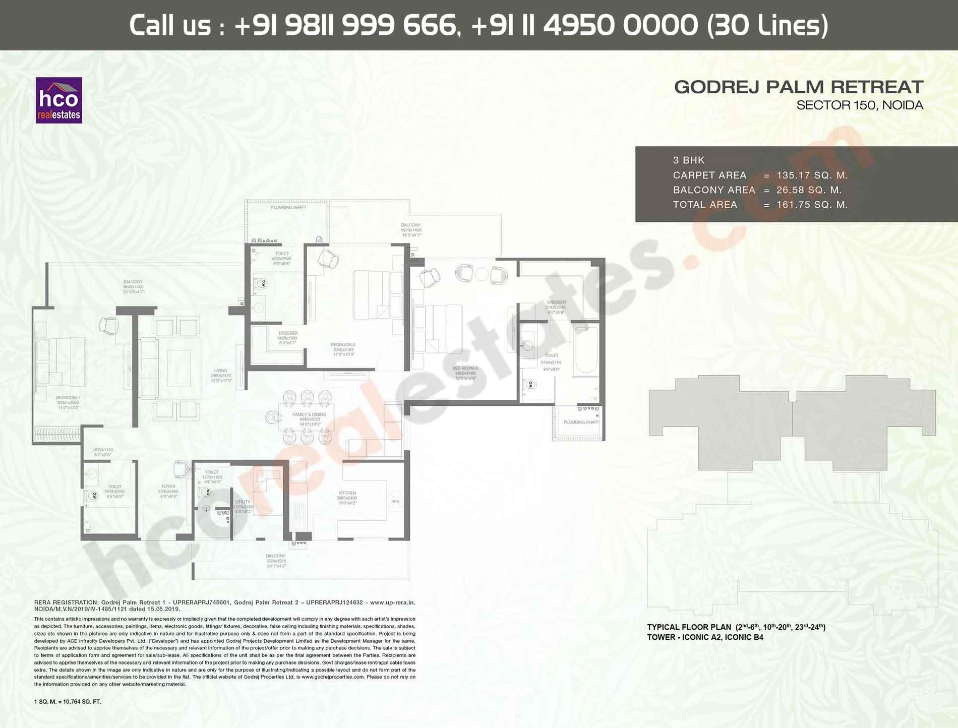 Area:- 162 Sq. Mtr.