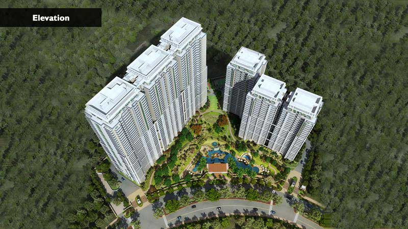 Elevation Images Dlf Crest Gurgaon Sector 54