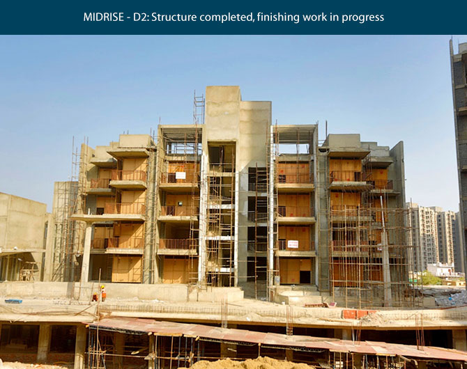 Construction Images Ireo Victory Valley Gurgaon