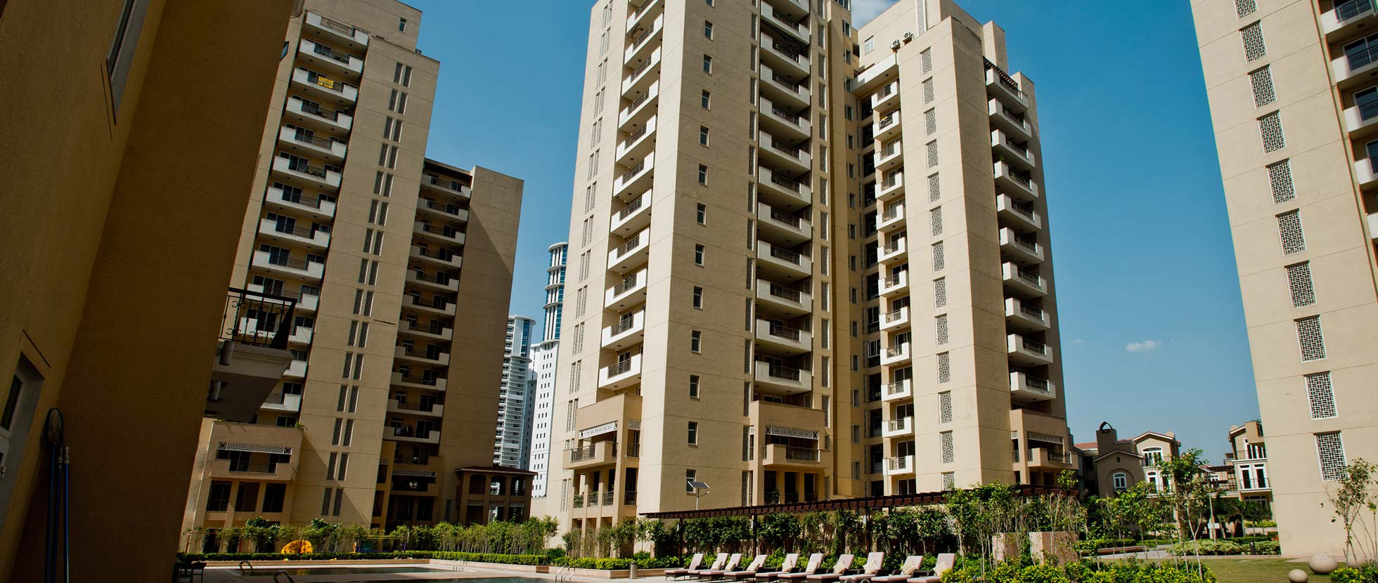 Elevation Images Emaar Mgf Palm Spring Gurgaon