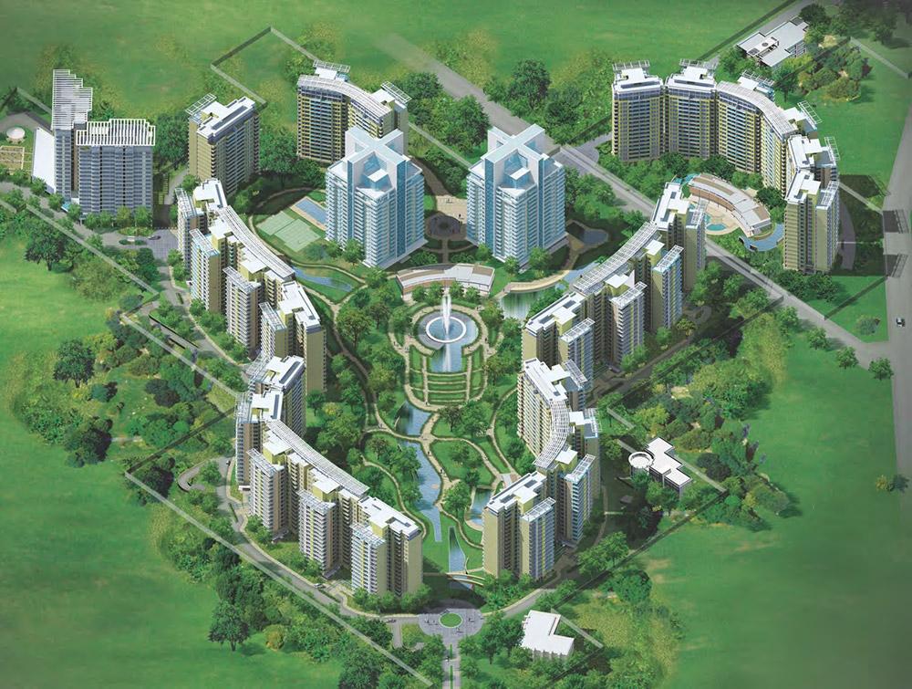 Elevation Images Central Park 2 Gurgaon Sector 48