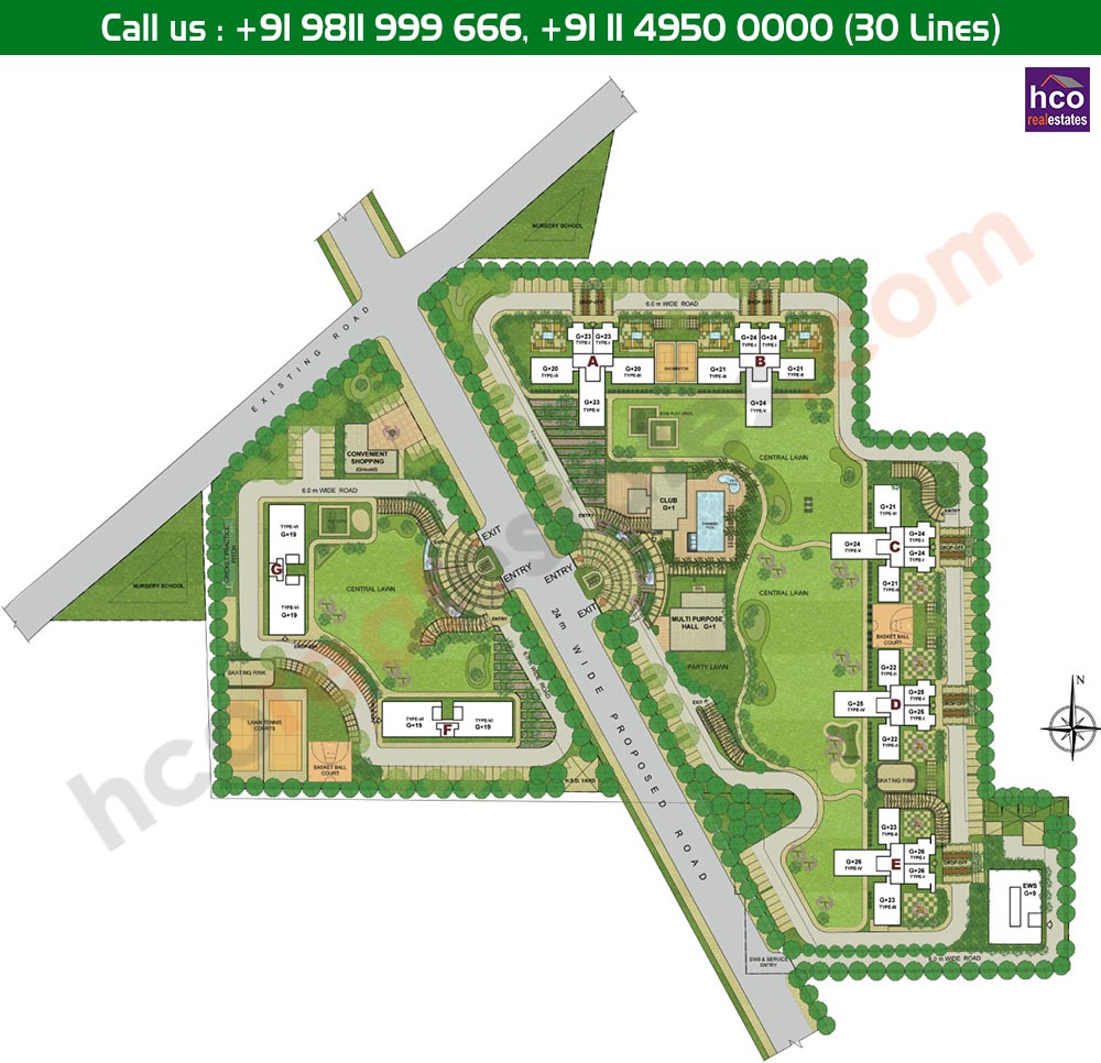 Alpha G Gurgaon One Master Plan