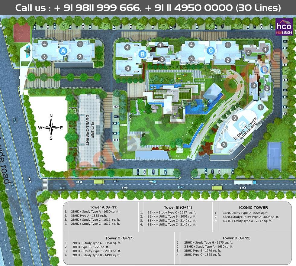 Master Plan Godrej Icon Gurgaon Gurgaon Sector 88a
