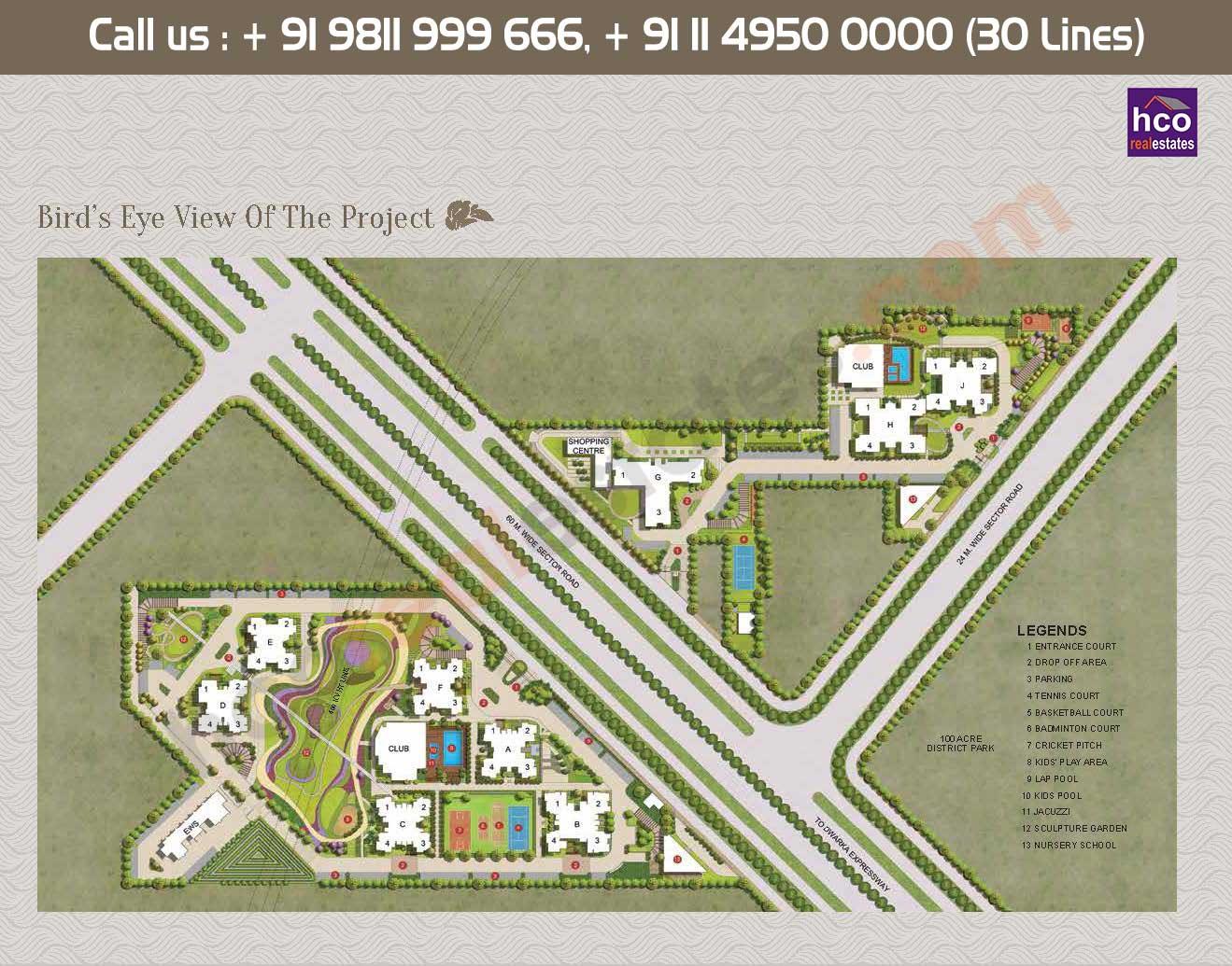 Master Plan - Adani Oyster Grande Gurgaon Sector 102
