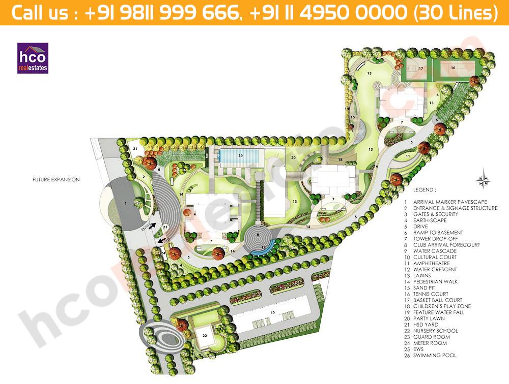 Master Plan - Emaar DigiHomes Sector  62