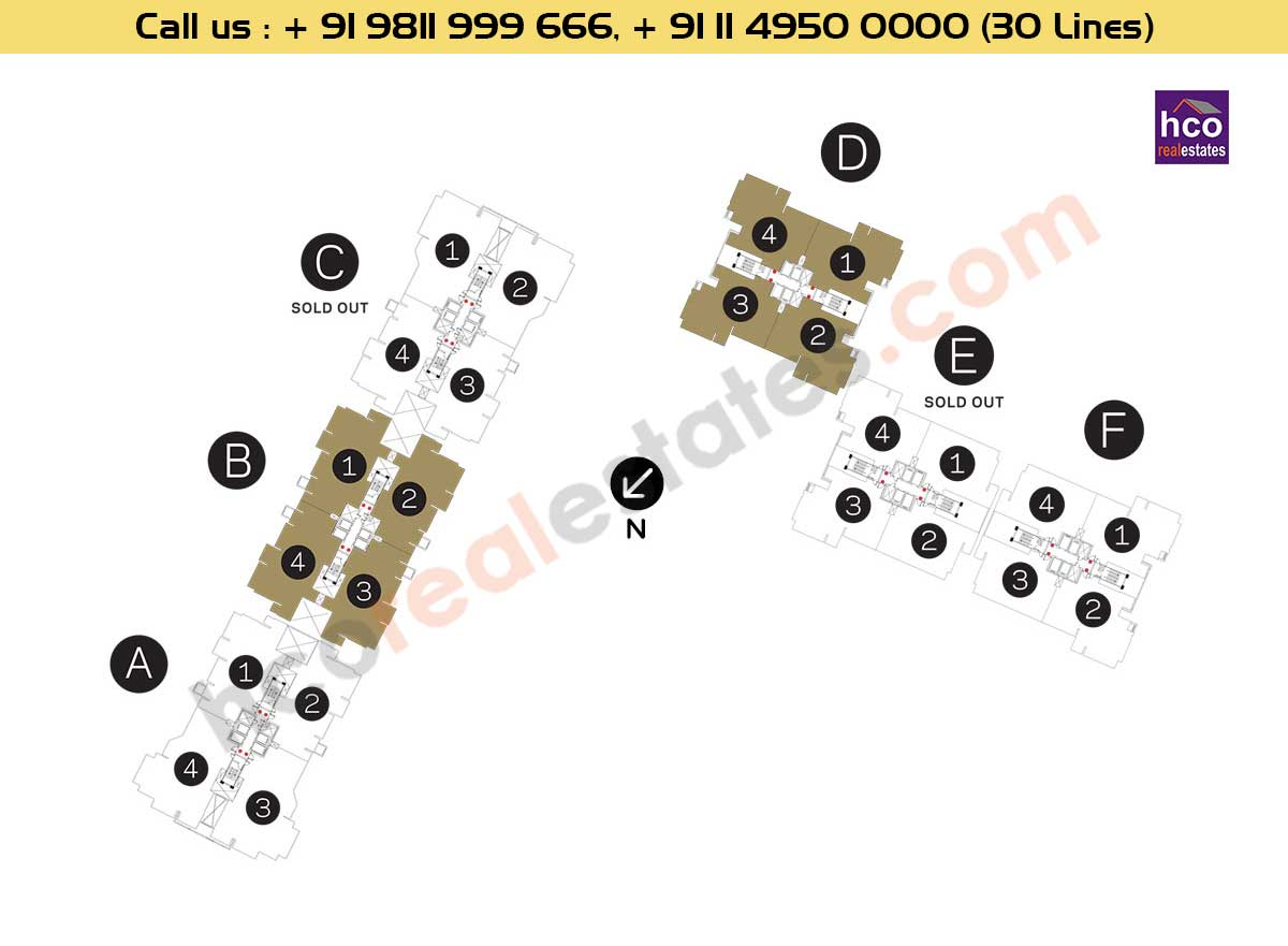 DLF Crest Numbering Plan