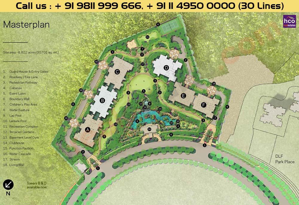 DLF Crest Site Plan