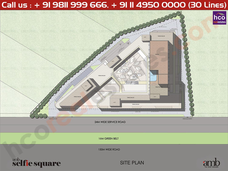 AMB Selfie Square Site Plan
