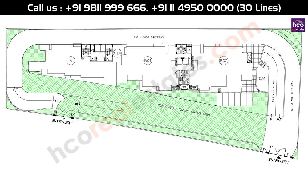 DLF Queens Court Site Plan